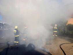 Oltási munkálatok, nagy füst