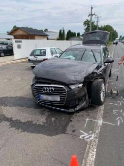 Forgalomkorlátozás is volt a baleset miatt, akadály alakult ki a sérült járművek miatt.