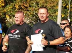 Múlt hétvégén eddigi legjobb eredményét érte el: kategóriájában ezüstérmes lett a HSMA Magyar Erős Emberek versenyén.